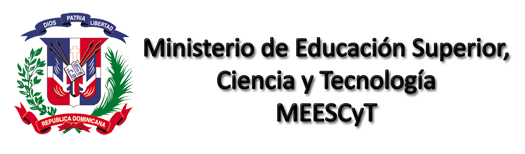 Ministerio de Educaci�n Superior,Ciencia y Tecnolog�a MEESCyT